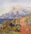 Monet The Red Road near Menton, 1884, 65x81 cm, Private