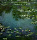 Monet Water lilies, 1906, 87 6x92 7 cm, The Art Institute of