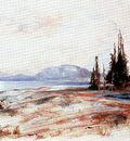 sdc 10 thomas moran yellowstone lake ca