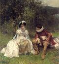 Moreau A The Courtship