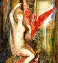 Moreau, Gustave Femme a libis rose end