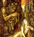 Moreau, Gustave Galatee end