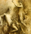 Moreau, Gustave Hesiode et la Muse end