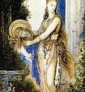 Moreau, Gustave Salome a la colonne end
