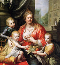 Moreelse Paulus Sophia Hedwig and children Sun