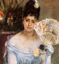 Morisot Berthe At the ball Sun