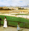 Morisot Berthe View on Paris Sun