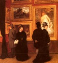 Muller Schonhausen A In The Picture Gallery