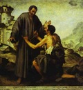Bartolome Esteban Murillo Brother Juniper and the Beggar