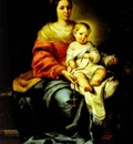 Bartolome Esteban Murillo Madonna of the Rosary