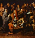 Bartolome Esteban Murillo St  Diego Giving Alms