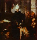 Bartolome Esteban Murillo St  Thomas Villanueva Giving Alms