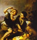 Bartolome Esteban Murillo The Pie Eater