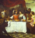 Bartolome Esteban Murillo The Prodigal Son Feasting with Courtesans