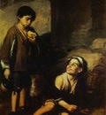 Bartolome Esteban Murillo Two Peasant Boys