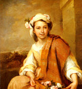 Murillo Bartolome Estaban The Flower Girl