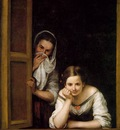 Murillo Two Women at a Window ca 1670, NG Washington
