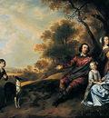 Mytens Jan Family group portrait