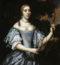 Mytens Jan Portrait of a Young Lady as Diana