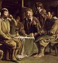 Le Nain Peasant Meal, 1642, 97x122 cm, Louvre
