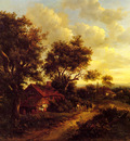 Nasmyth Patrick A Landscape With A Cottage Near Dorking