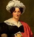 Navez Francois Joseph Portrait Of A Lady With A Letter