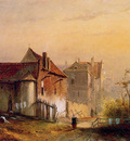 Nuyen Wijnand View on a village Sun