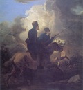 am Aleksander Orlowski Two Cossacks on Horseback