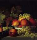 still life apples grapes pear 1822