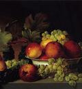 still life apples grapes pear 1822