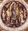 perugino pietro christ in his glory 1507