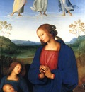 Perugino The Virgin and child with an angel
