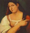 sebastiano del piombo portrait of a girl, ca 1515, 52 5x42