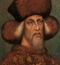 Pisanello Portrait of the Emperor Sigismund, 1432 33, parchm