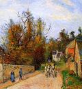 Pissaro Camille The diligence Sun