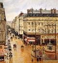 Pissarro, Camille Rue Saint Honore end