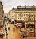 Pissarro, Camille Rue Saint Honore end