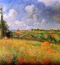 Pissarro Camille Les seigles Pontoise