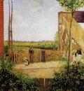 Pissarro Camille The railroad bridge at Bedford Park 1 Sun