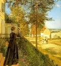 Pissarro Louveciennes The Road to Versailles, 1870, Foundat