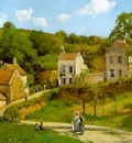 Pissarro The Hermitage at Pontoise, 1867, Solomon R  Guggenh