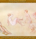 po par 183 esquisse pour les grandes baigneuses 1884