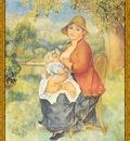po par 195 maternite femme allaitant son enfant