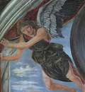 Pollaiuolo,A  Angel, 1467, detail of fresco at the Chapel of
