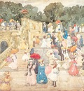 Prendergast The Mall Central Park