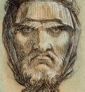 Prudhon Pierre Paul Head of Plutus God of Wealth Sun