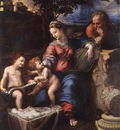 Raffaello Holy Family below the Oak