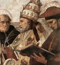 Raffaello Stanze Vaticane La Disputa detail [09]