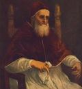 Raffaello Portrait of Julius II, 1512, Tempera on wood, 108,