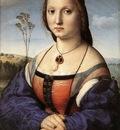 Raffaello Portrait of Maddalena Doni